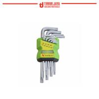 NANKAI PENDEK BINTANG Kunci L SET 9 pc
