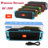 Speaker Bluetooth Wireless 208 Speaker Music A2DP JBL Mega BAss