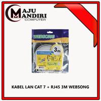 KABEL LAN CAT 7 + RJ45 3M WEBSONG