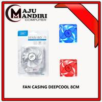 DEEPCOOL FAN CASING XFAN LED 8cm 8 CASE COOLER DEEP COOL