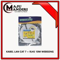 KABEL LAN CAT 7 + RJ45 10M WEBSONG
