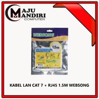 KABEL LAN CAT 7 + RJ45 1.5M WEBSONG
