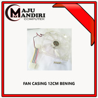 FAN CASING 12cm x 12cm Transparan