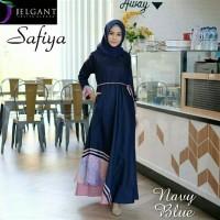 Pakaian Baju Busana Muslim Wanita Maxi Dress SAFIYA Gamis Terbaru