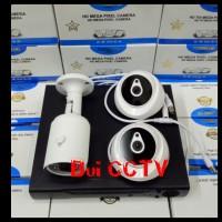 Paket CCTV 3 CAMERA 3MP KOMPLIT HARDISK 500GB