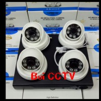 Paket CCTV 4 CAMERA 3MP KOMPLIT Hardisk 1000GB