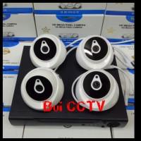 Paket CCTV 4CH 3MP KOMPLIT Hardisk 1000GB