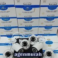 Paket CCTV 6CH 5MP FULL HD KOMPLIT Hardisk 1000GB