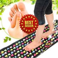 Healthy Foot Walking Mat Matras alat terapi pijat refleksi kaki Medis