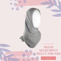 Jilbab Kerudung Segi empat Bella Double Hycon bukan rawis ansania