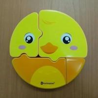 BEBEK - Lunch Box Set Puzzle Technoplast Wadah Makan Karakter Unik -