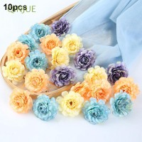 10Pcs DIY Dekorasi Kepala Bunga untuk Pesta Ulang Tahun Pernikahan