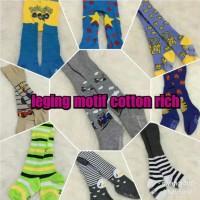 Legging bayi cotton rich tight motif