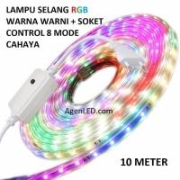Lampu LED Strip RGB SMD 5050 Panjang 10M OUTDOOR