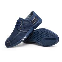 Techdoo Sepatu Pria Sepatu Tali Sepatu Sport Sepatu Kets Pria J11