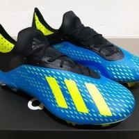 NEW Sepatu Bola Soccer Adidas X 18 1 Next Gen Energy Mode Blue Volt F