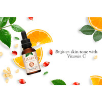 A'kin Certified Organic Rosehip Oil with Vitamin C, 20ml