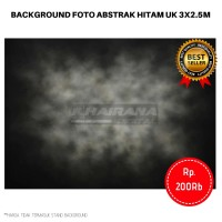 Kain Background Backdrop latar Studio Foto 3x2.5m - abstrak abu hitam