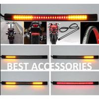LED Lampu Rem Sein Tail Motor Fleksibel Brake Stop 48SMD