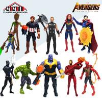 Action Figure Marvel The Avanger Invinity War - 10 Karakter