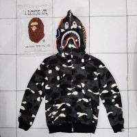 HOODIE BAPE SHARK CITY CAMO GLOW IN THE DARK GRADE 1:1 AUTHENTIC