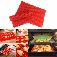 Silicone Pyramid Mat - Alas Panggang Anti Lengket - Cooking Sheet Tray