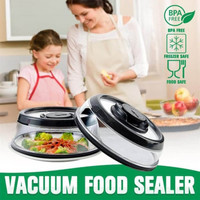 Vacuum Food Sealer Cover / Food Keeper / Penyimpan Makanan / PressDome