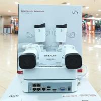 PAKET CCTV NVR KIT UNIVIEW 4CAMERA 1080P FULL HD LENGKAP HARDISK 500GB