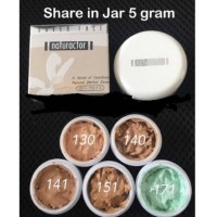 (SHARE IN JAR) NATURACTOR COVER FACE FOUNDATION 100% ORI JAPAN