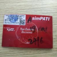 Kartu Telkomsel Cantik Triple 777 nomor cantik paket internet 75rb