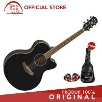 Yamaha Gitar CPX 600/ CPX600 -Hitam +Softcase &2 Pick