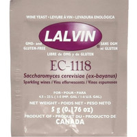 Imatton Lalvin Dried Wine Yeast EC #1118 alc 18%