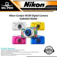 NEW Nikon Coolpix W100 Digital Camera - GARANSI RESMI ORIGINAL