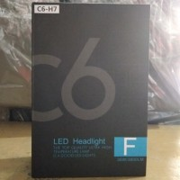 HEADLAMP LED H4 COB C6 Chips BLACK SERIES
