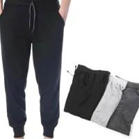 (Paket 3 Pcs) Celana Panjang Jogger Pants Training Sport Polos
