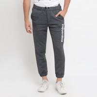 Papperdine Jeans 112 Grey Training Jogger Pants Bahan Katun Stretch