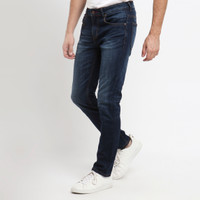 PAPPERDINE JEANS 211 Enzyme 'Selvedge' Stretch Celana Pria Panjang - 30