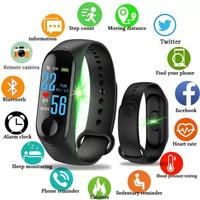 M3 Smart Watch Like Mi Band 3 Smartwatch Smartband Jam Tangan Sport