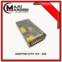 ADAPTOR POWER SUPPLAY JARING DC 12V 20A FOR CCTV - LED