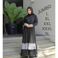 HUMAIRA DRESS JUMBO SIZE/fashion wanita/big size/gamis jumbo