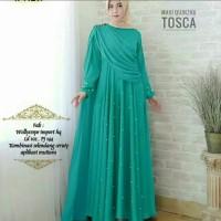 Pakaian Baju Busana Muslim Wanita Dress RINDIYA Gamis Syari Terbaru