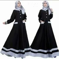 Pakaian Baju Busana Muslim Wanita Dress ALISHA Gamis Terbaru Termurah