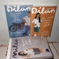 Paket 3 Novel Dilan 1990 DILAN 1991 dan Milea
