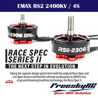 Dinamo Brushless EMAX RSII 2306 - 2400KV / 3-4S FPV Drone Racing Motor