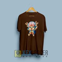 Kaos Distro Anime One Piece Tony Tony Chopper Chibi dtx