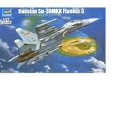 pesawat Su-30MKK Flanker G 1/72 model kit trumpeter