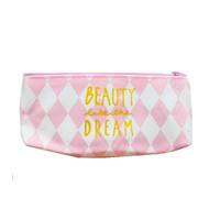 Kotak Pensil Pink Beauty in the Dream Bahan Kanvas Tempat Pensil