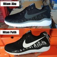 Sepatu Sport Nike Free Men Sneakers Running Olahraga Pria