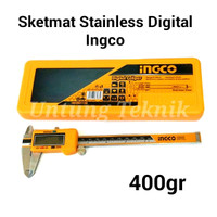 INGCO 6 Inch Steinless Steel Digital Caliper - Jangka Sorong Digital