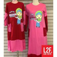 Gamis Muslimah / Gamis Anak Baju Muslim Kaos Perempuan 8 14 Tahun